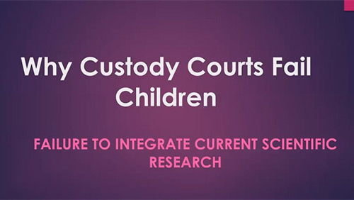 Barry Goldstein: How Courts Fail Children